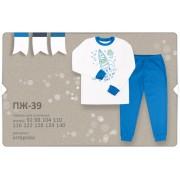 Пижама для мальчика  на манжетах ПЖ39м (интерлок) Бемби