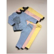 Пижама детская  Мишка с зайчиком  ПЖ139 Robinzone
