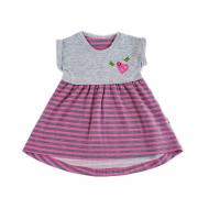 Платье летнее мод.151 Фламинго-текстиль