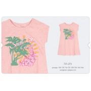 Платье летнее ПЛ273 розовое  Бемби