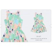 Платье летнее ПЛ277  мятное Бемби