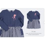 Платье трикотажное (двунитка) ПЛ284 Бемби весна