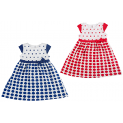 Платье летнее мод.935 Фламинго-текстиль