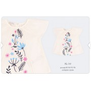 Блуза для девочки (вуаль) РБ119 Бемби