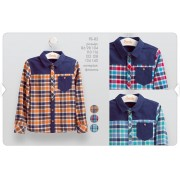 Рубашка для мальчика (фланель) РБ82 Бемби осень