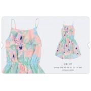 Платье летнее СФ129 мятное  Бемби