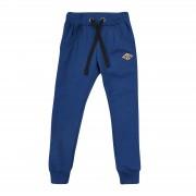 Брюки спортивные для мальчика ШР523 синие (двунитка) Бемби