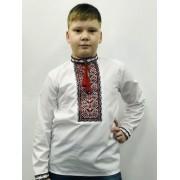 Вышиванка для мальчика База Красная Укрмода