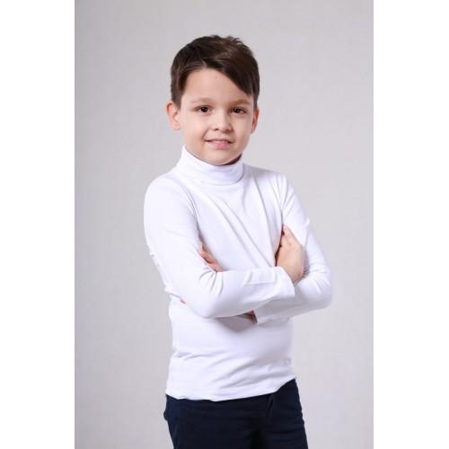 Гольф белый для мальчика 15319 ТМ Vidoli