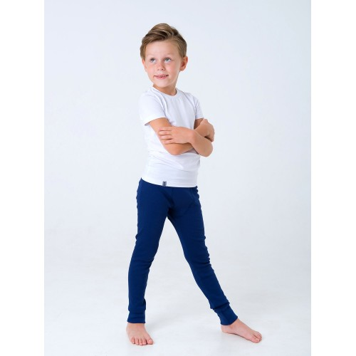 Кальсоны для мальчика (микроначес) синие ТМ Смил 2019