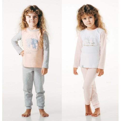 Пижама для девочки (интерлок) ТМ Смил