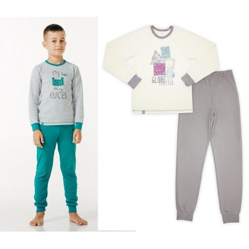 Пижама для мальчика (интерлок) ТМ Смил
