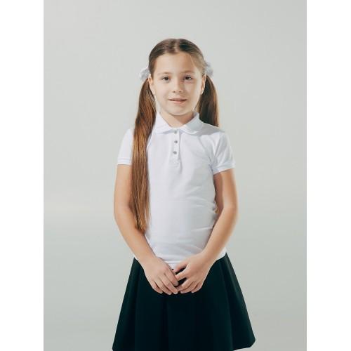 Футболка-поло  для девочки  ТМ Смил