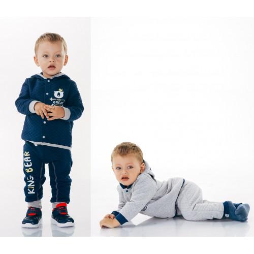 Комплект ясельный для мальчика (капитон) Смил