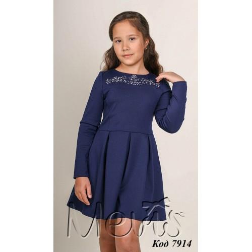 Платье  для девочки  ТМ Мевис 1932