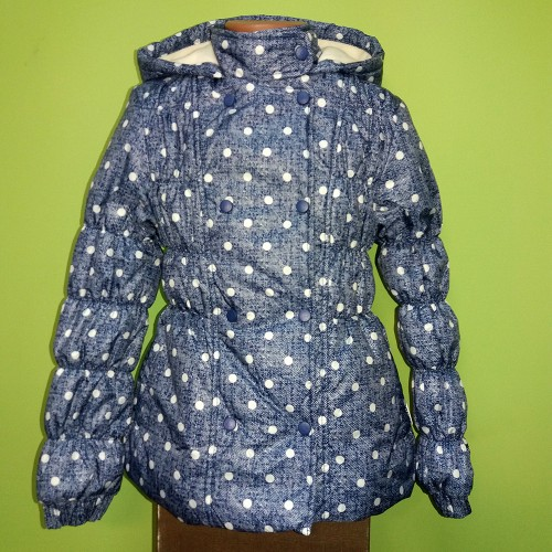 Куртка утепленная  для девочки КТ97