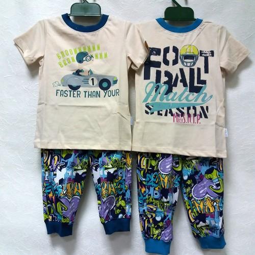 Пижама для мальчика летняя ПЖ44 (супрем) Бемби
