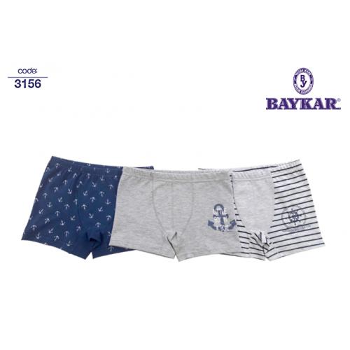 Трусы боксеры  для мальчика мод.3156  Baykar