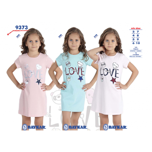 Ночная рубашка  мод.9373 Baykar
