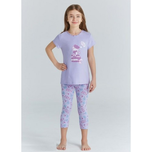 Пижама для девочки летняя  мод.9209 Baykar