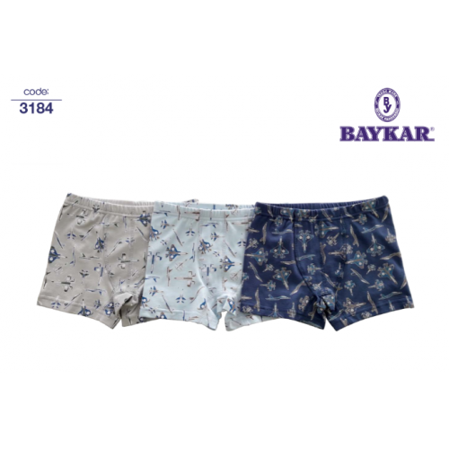 Трусы боксеры  для мальчика мод.3184  Baykar