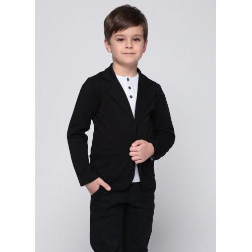 Пиджак черный ТМ ВидОли 15322