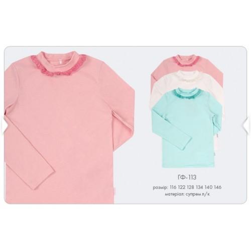Блуза гольф школьный для девочки (супрем) Гф113 Бемби