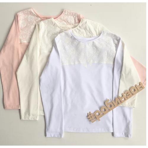 Блуза для девочки  кф473 Робинзон