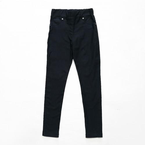 Леггинсы SmileTime утепленные для девочки Classic Jeans, темно-синие