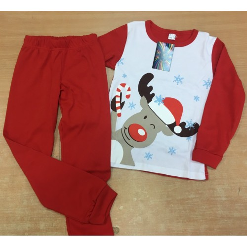 Пижама детская Олень (интерлок) ТМ Літо