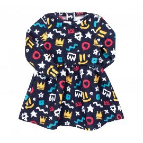 Платье трикотажное (тринитка) ПЛ303 Бемби