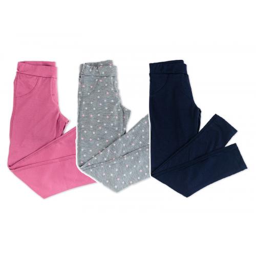 Лосины для девочки модель 769 Фламинго-текстиль