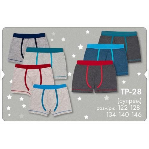Трусы-шорты для мальчика ТР28  (ребана)  Бемби