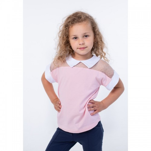 Блуза для девочки розовая ВидОли ТМ