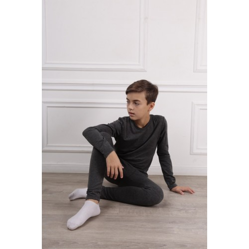 Термобелье - комплект для мальчика  (шардон-интерлок) Bonka 2019