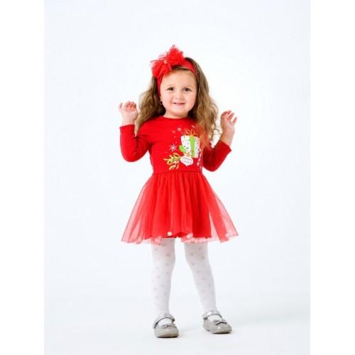 Платье с повязкой Рождественские истории Смил