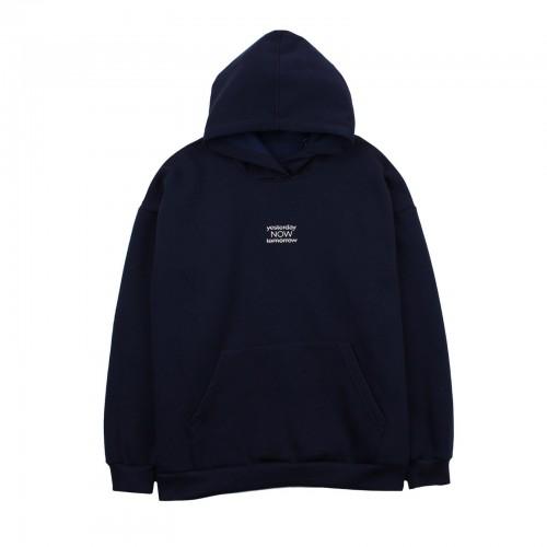Кофта худи темно синяя ТМ Фламинго-текстиль